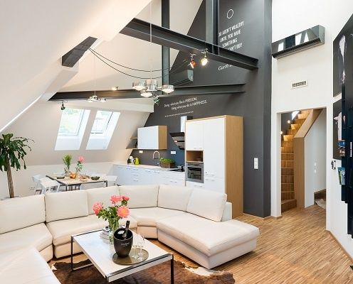 Livingroom - MOOo Downtown | Luxurious apartments in the center of Prague
