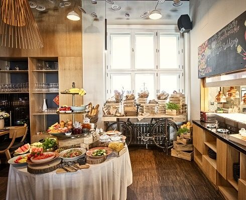 Breakfast - MOOo Downtown | Luxurious apartments in the center of Prague