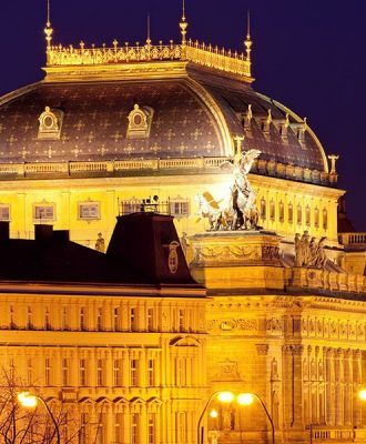 MOOo Downtown | Luxurious apartments in the center of Prague - national theater