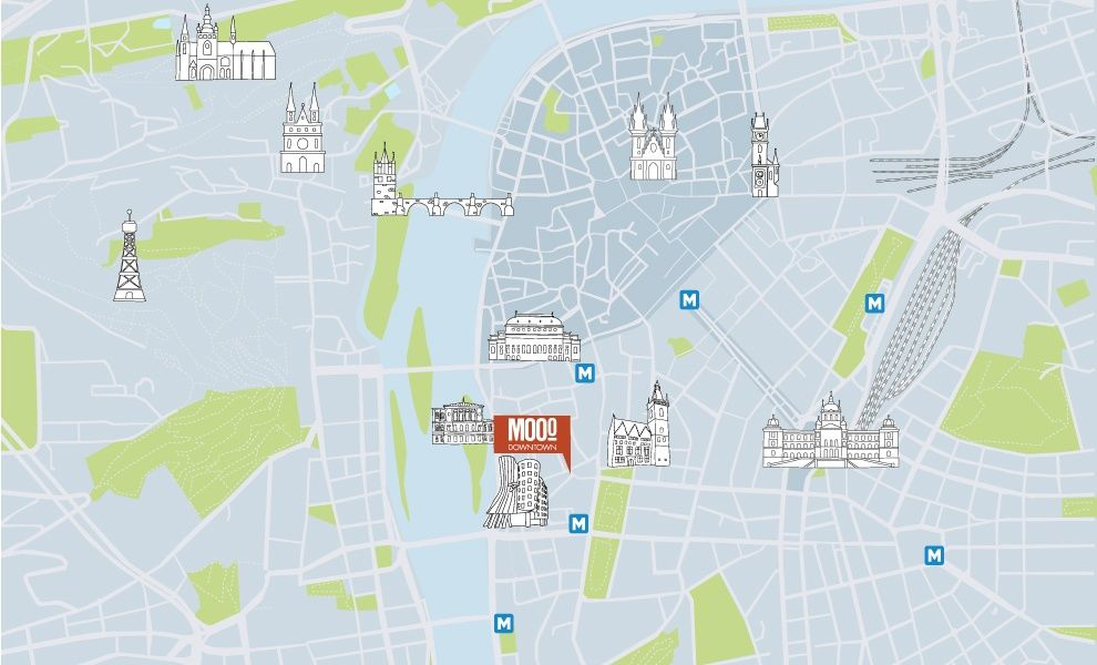 MOOo Downtown | Luxurious apartments in the center of Prague - MD copy